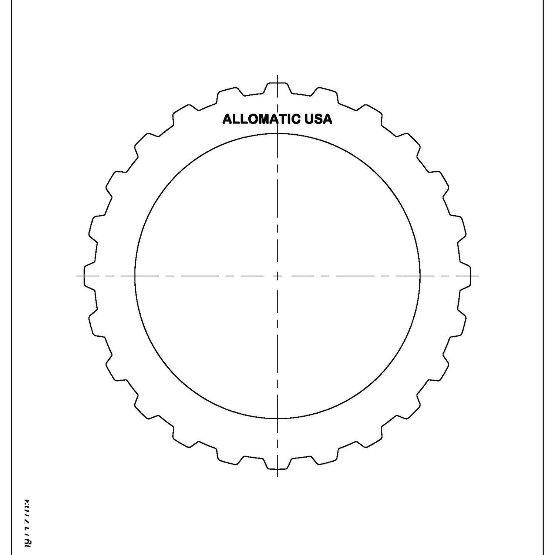 511985 | 1994-ON Steel Clutch Plate Direct