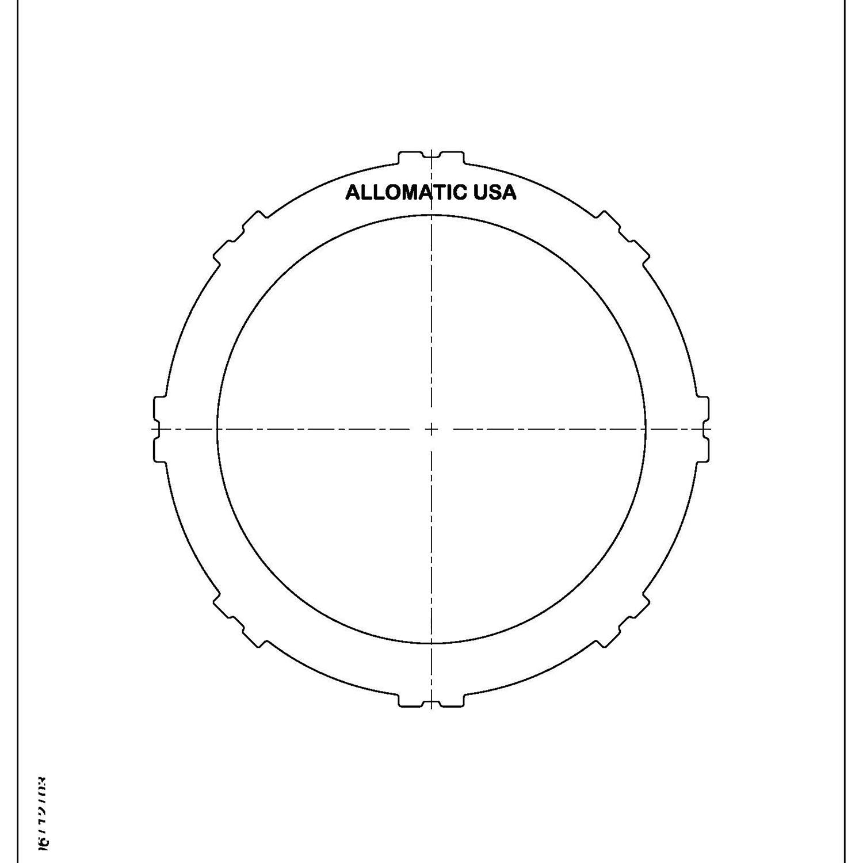511988   1990-ON Steel Clutch Plate Forward