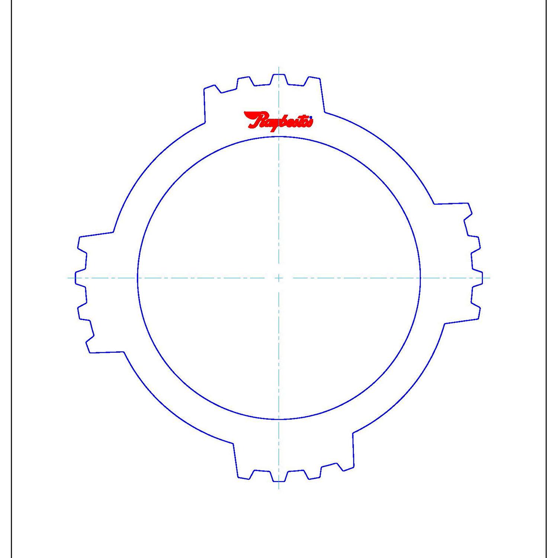 511989 | 1995-2004 Steel Clutch Plate Coast Selective