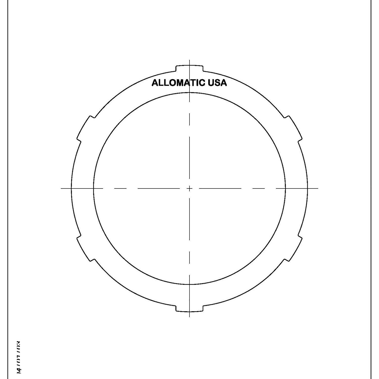 511997 | 1995-1998 Steel Clutch Plate Reverse