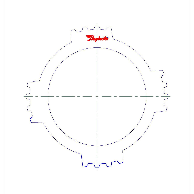 511998 | 1995-2004 Steel Clutch Plate Coast