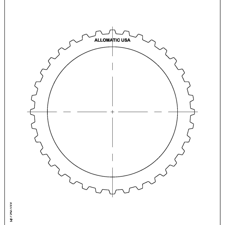 511999 | 1995-2004 Steel Clutch Plate 3, 4