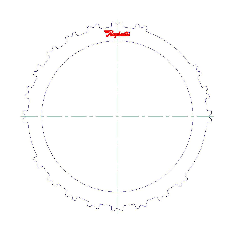 5111067 | 2013-ON Steel Clutch Plate B2