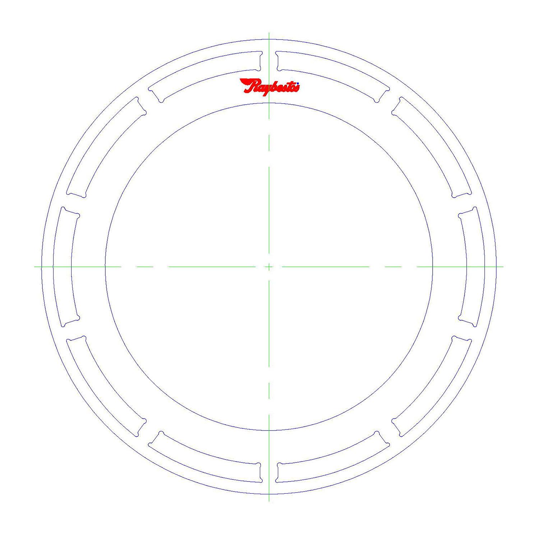 10L90 Steel Clutch Plate