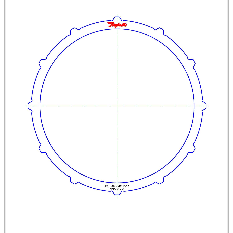 5111261 | 2009-ON Steel Clutch Plate Reverse