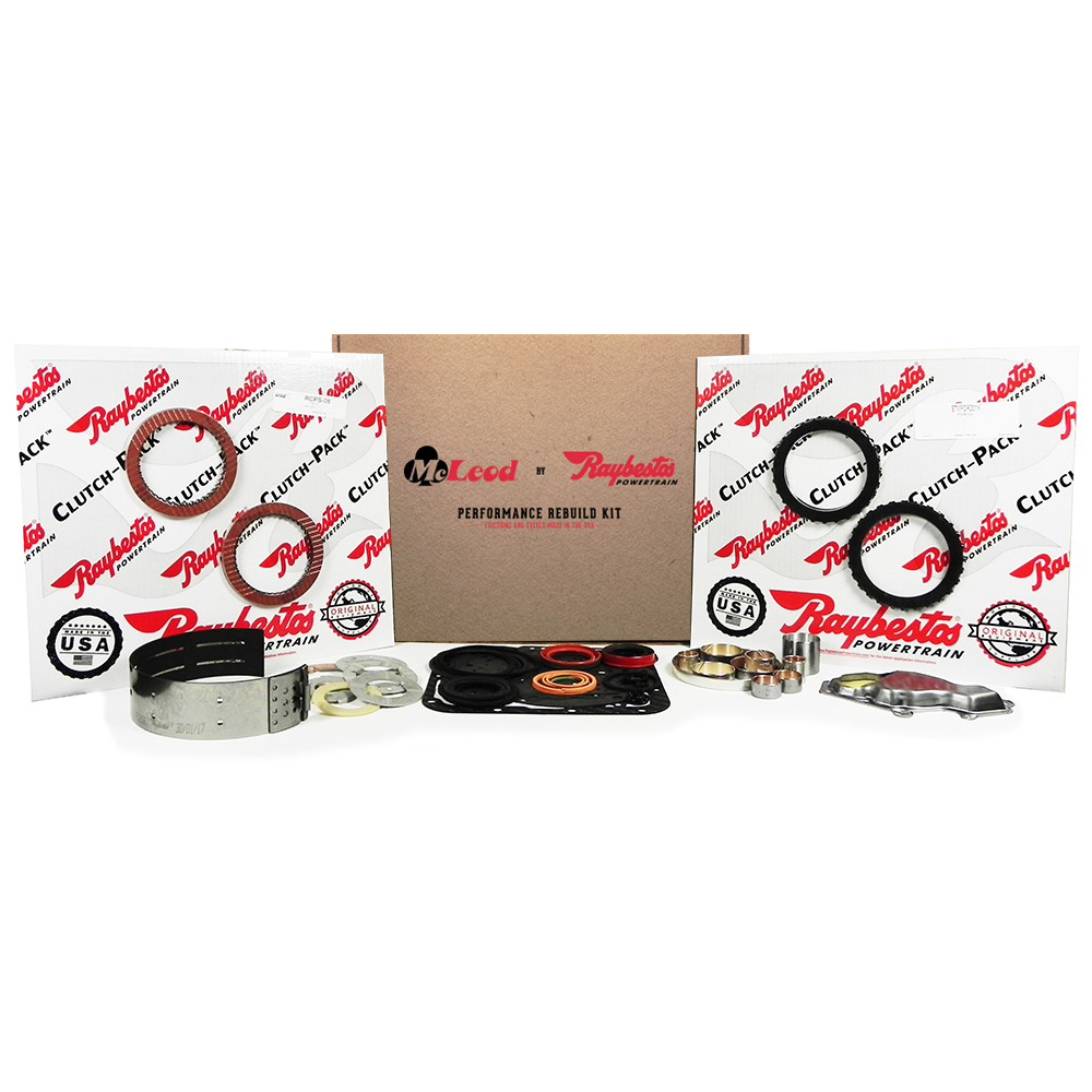 Stage-1 Friction Clutch Pack, Kolene Steel Clutch Pack, Transmission Filter, Band, Thrust Washer Kit, Bushing Kit, Performance Overhaul Kit