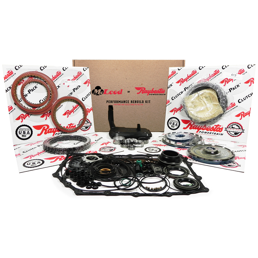 Stage-1 Friction Clutch Pack, Steel Clutch Pack, Transmission Filter, ZPAK Clutch Pack, Piston Kit, Bushing Kit, Performance Overhaul Kit