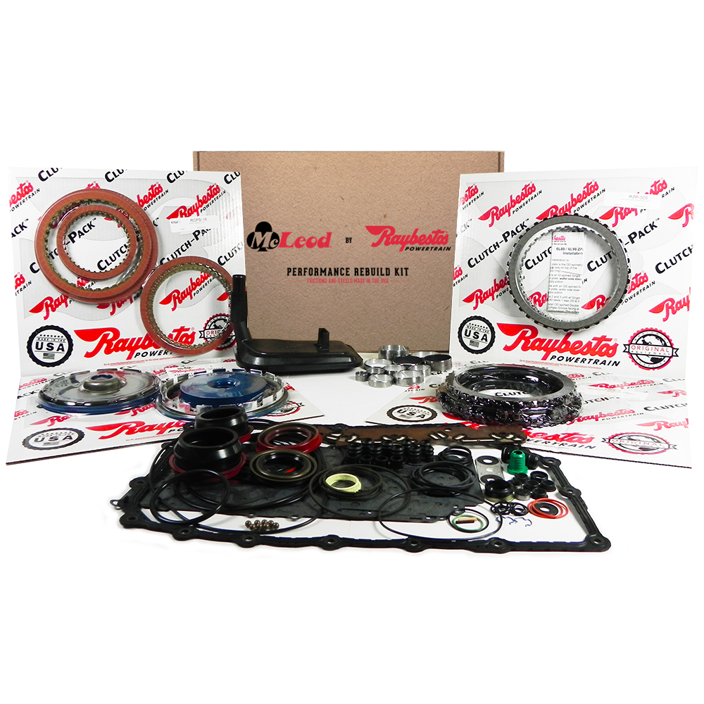 Stage-1 Friction Clutch Pack, Kolene Steel Clutch Pack, Transmission Filter, ZPAK Clutch Pack, Piston Kit, Bushing Kit, Performance Overhaul Kit
