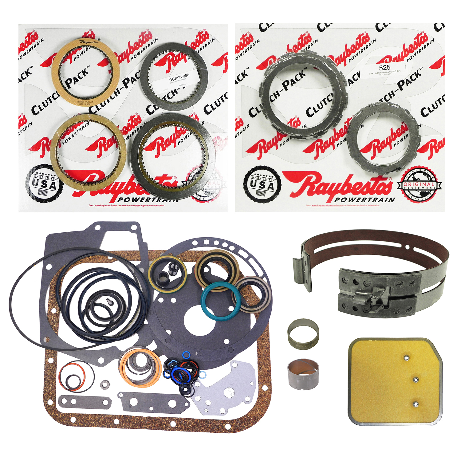 A500 Super Rebuild Kit
