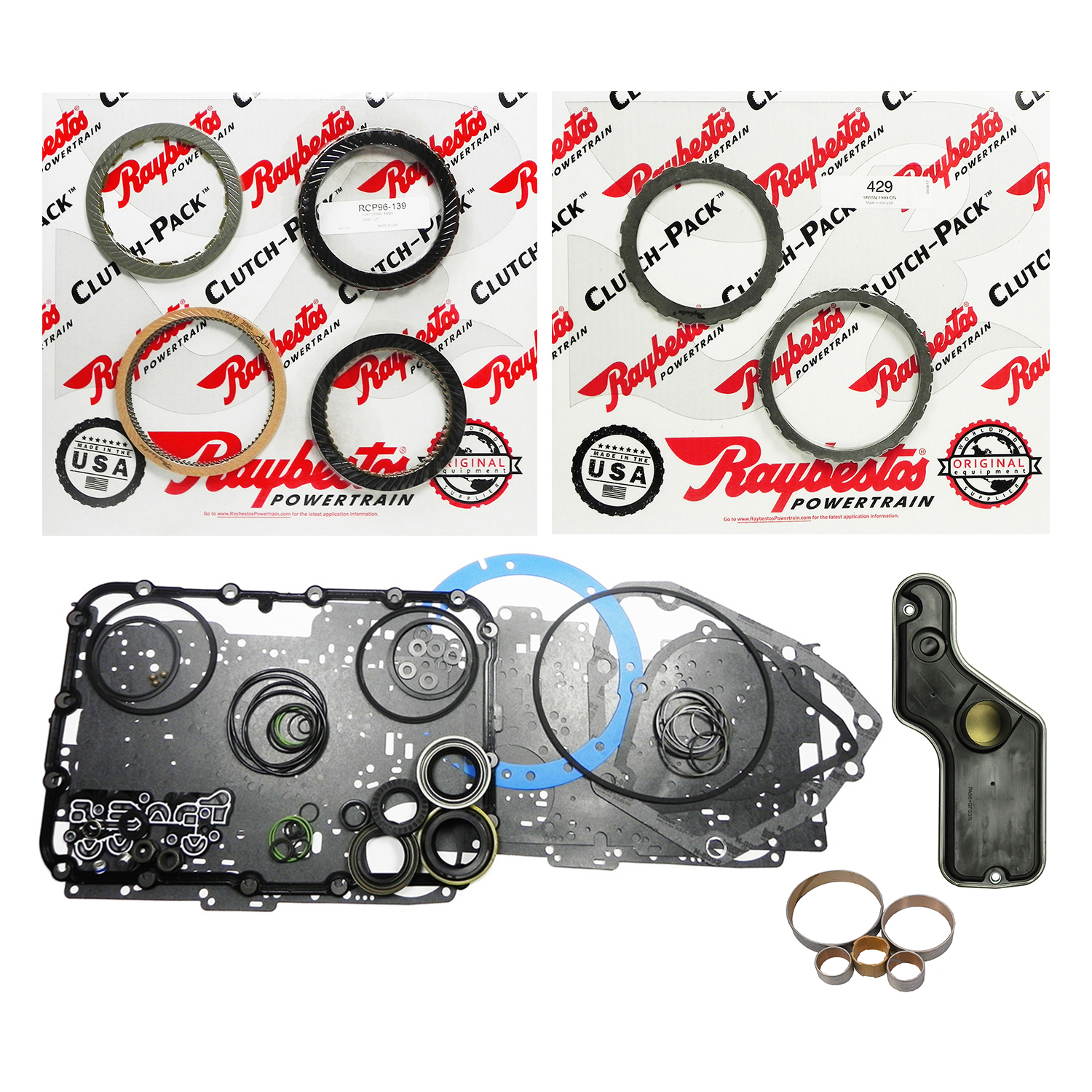 AZ16008GP | 2002-2007 Super Rebuild Kit