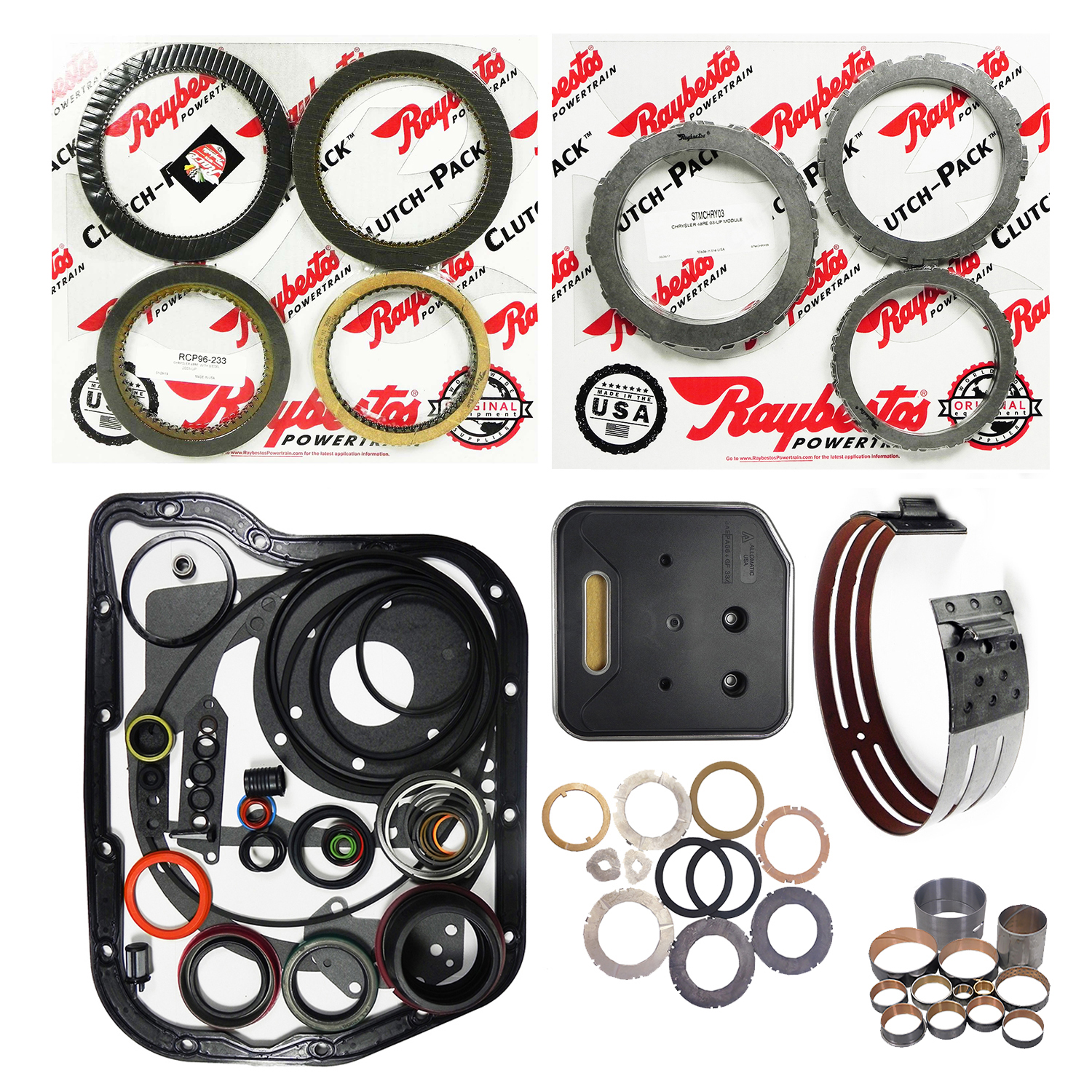 AZ22008GW | 2003-ON Super Rebuild Kit