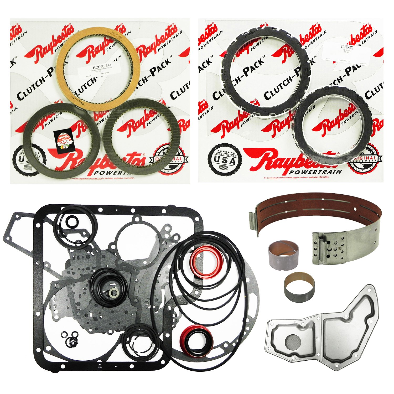 C6 Super Rebuild Kit