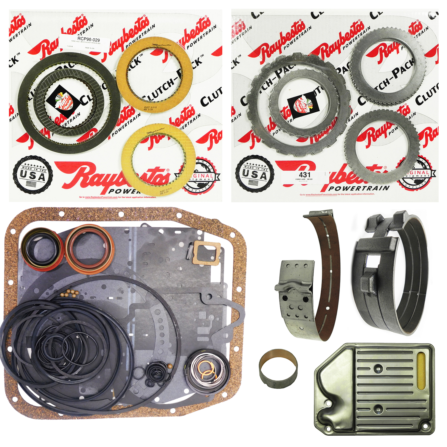 AOD (2WD) Super Rebuild Kit