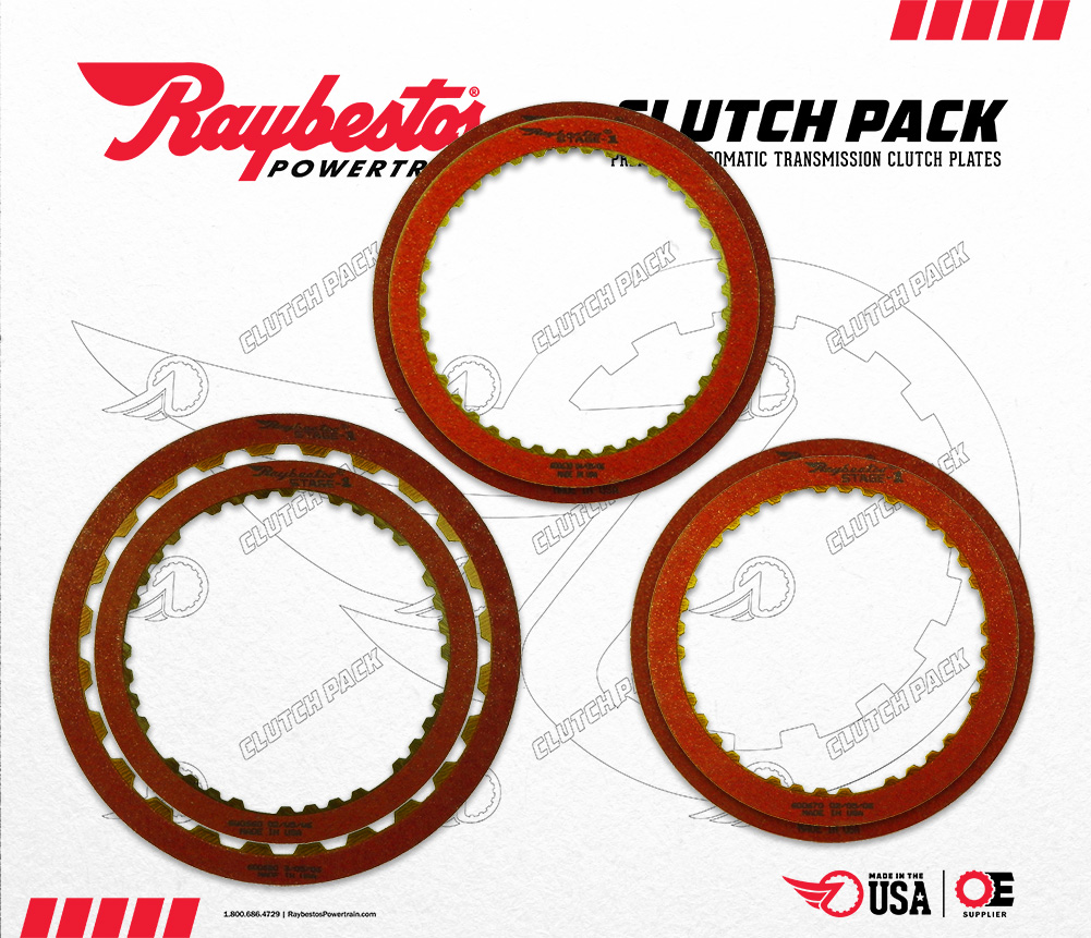 RCPS-55 | 1985-ON Stage-1™ Friction Clutch Pack Module (added capacity Forward & Direct clutches)