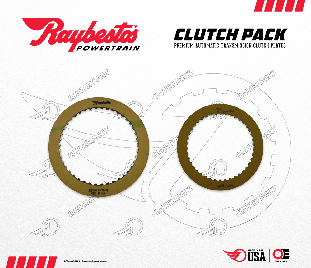 C4 Friction Clutch Pack