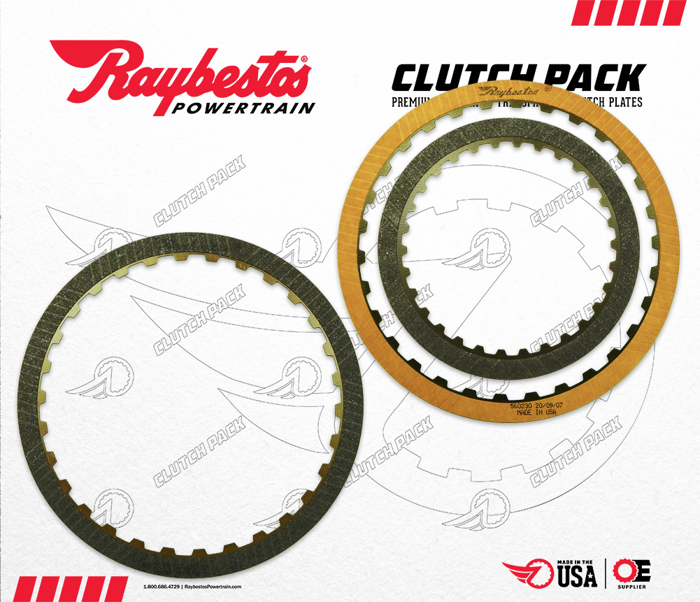 6R100 Friction Clutch Pack