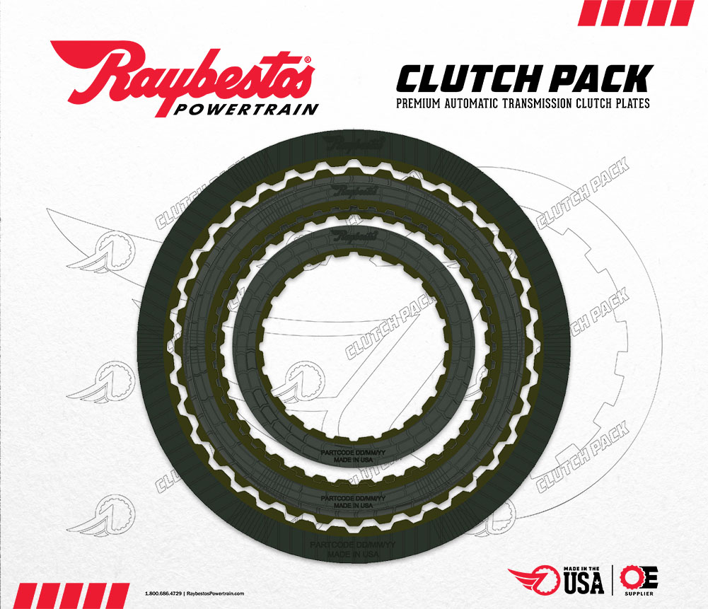 6F35 Generation 2 HT Friction Clutch Pack