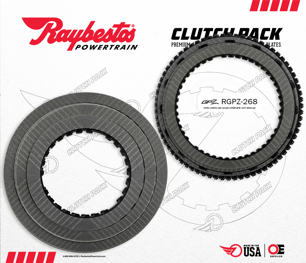 10R80 GPZ Friction Clutch Pack
