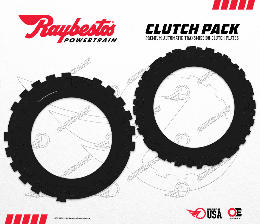 4L60, 4L60E Kolene® Steel Clutch Pack