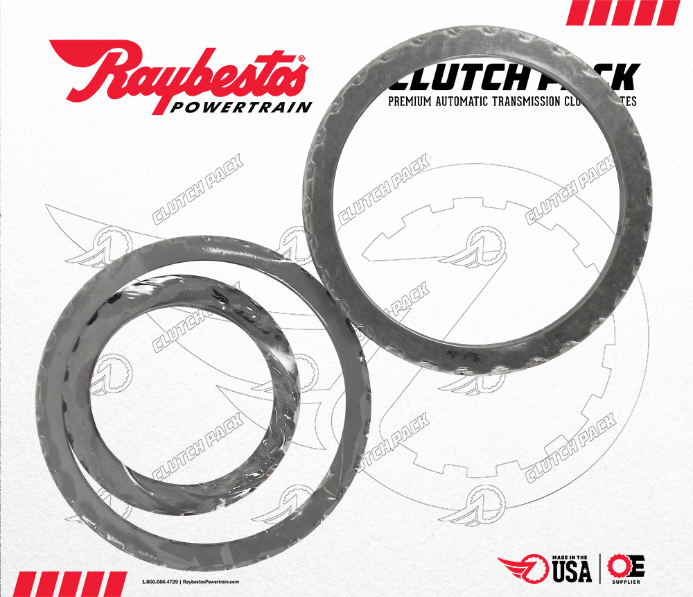 6R80 Steel Clutch Pack