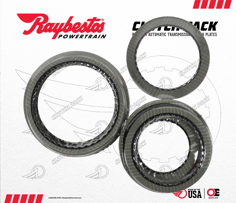 JR710E, JR711E, RE7R01A (V8 Nismo) GPZ Friction Clutch Pack