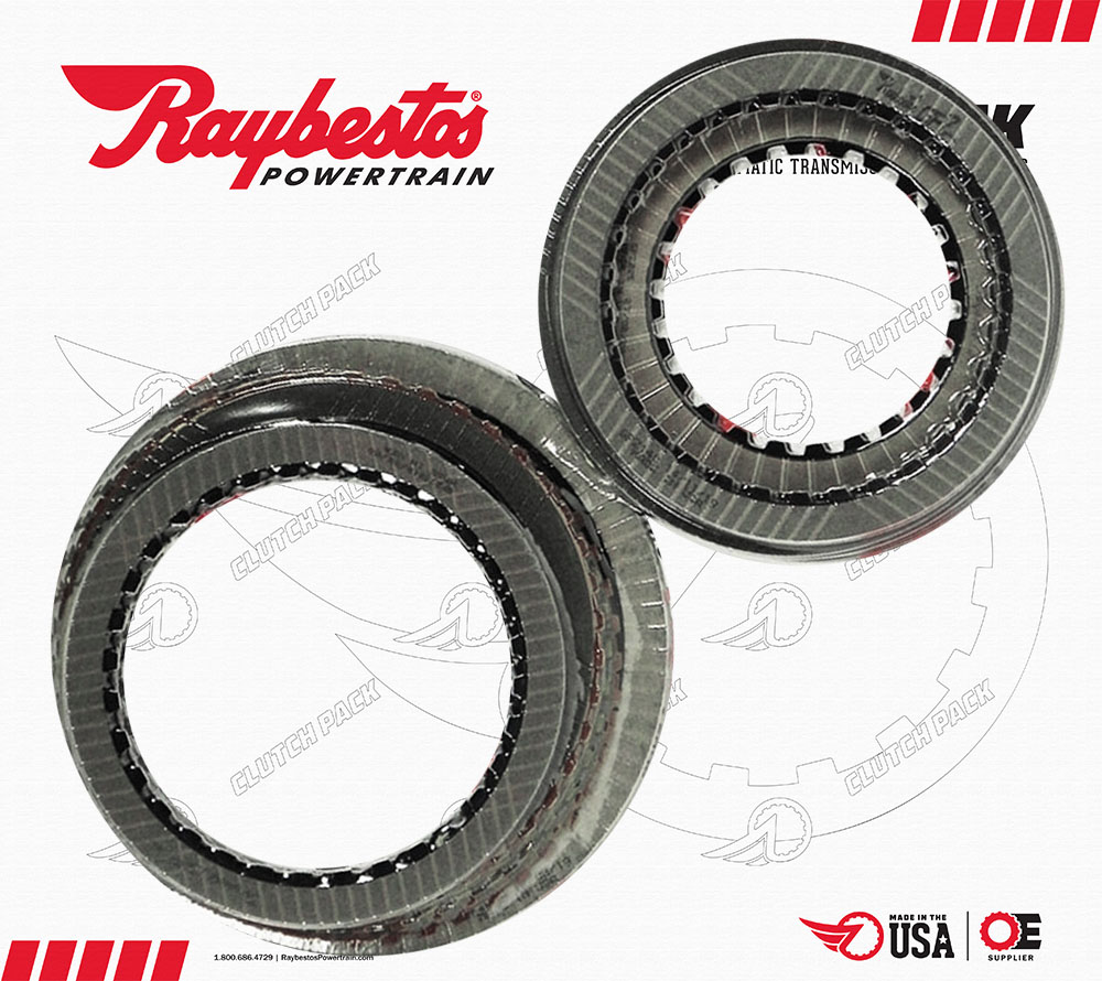 66RFE GPZ Friction Clutch Pack (12-13)