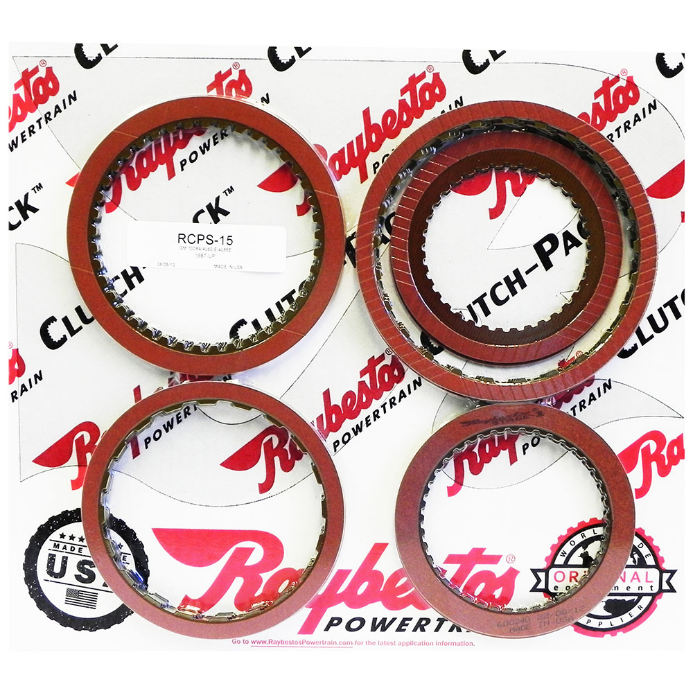 TH700-R4, 4L60, 4L60E, 4L65E, 4L70E Stage-1™ Friction Clutch Pack