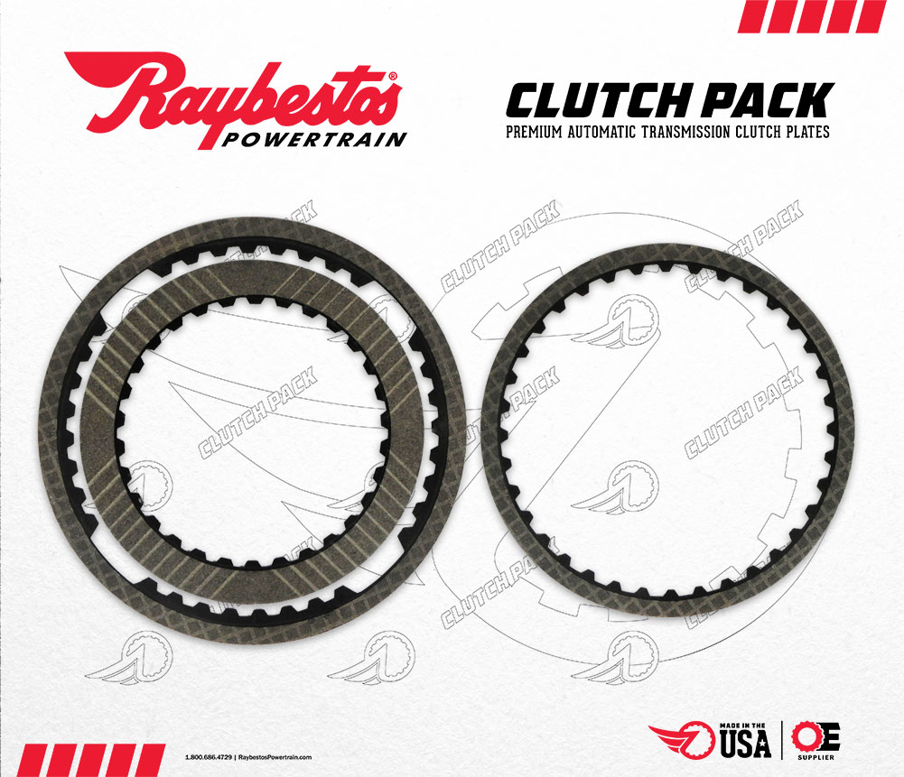 JF015E / RE0F11A / CVT-7 Transmission GPZ Clutch Pack