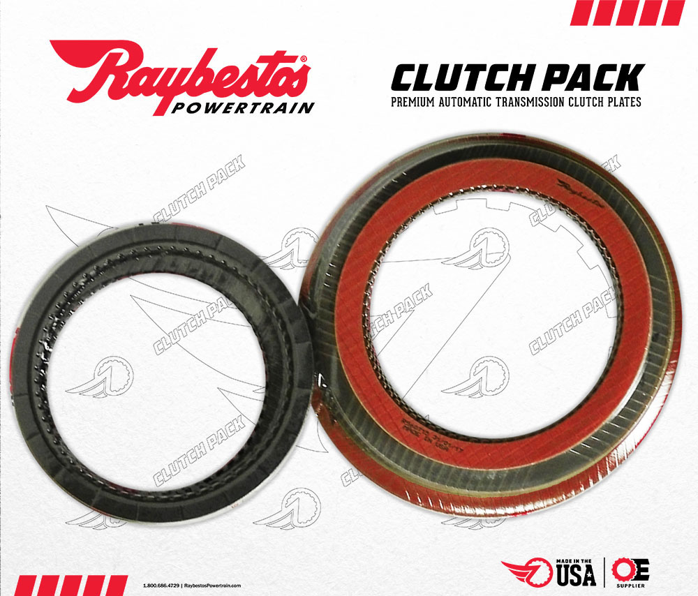 5R110W TorqShift GPZ & Stage-1 Friction Clutch Pack w/3 Int
