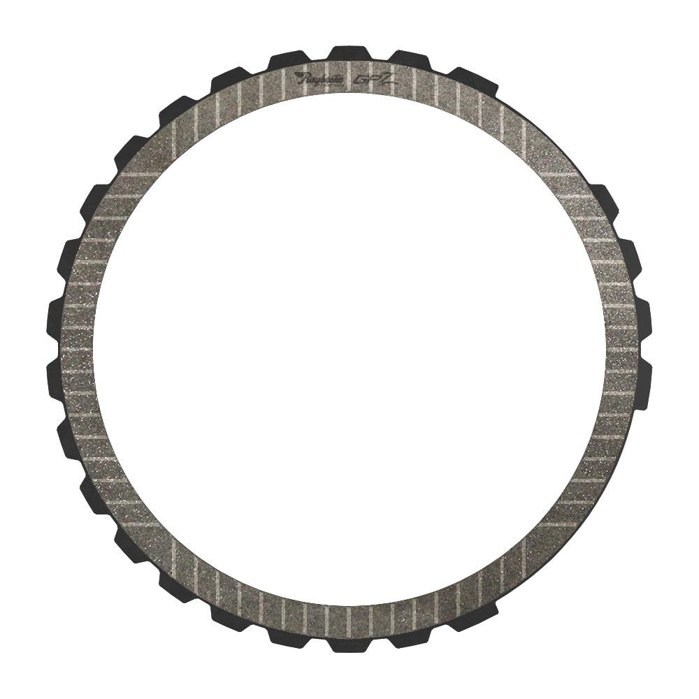 A8TR1 8th, Low Reverse Brake Single Sided, OD Spline GPZ Friction Clutch Plate