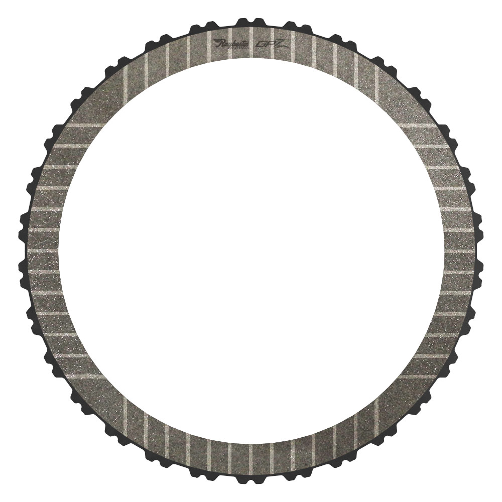 A8TR1 3-5, Reverse Clutch Single Sided, OD Spline GPZ Friction Clutch Plate