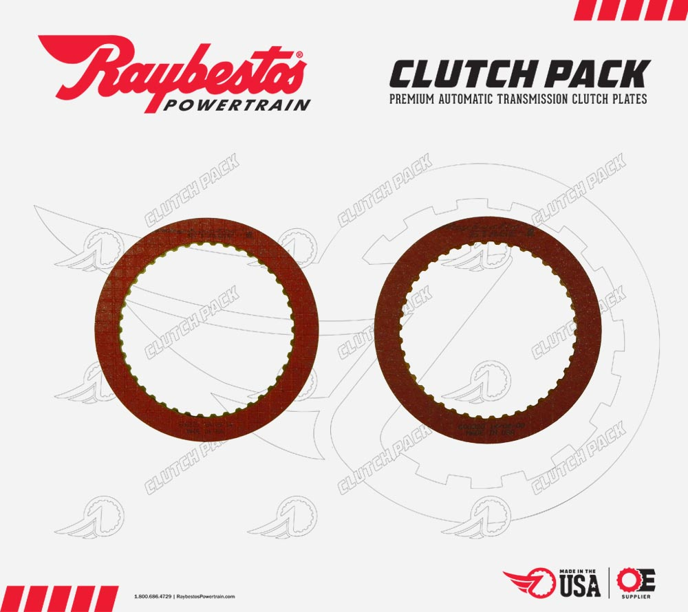 C4 Stage-1 Performance Friction Clutch Pack