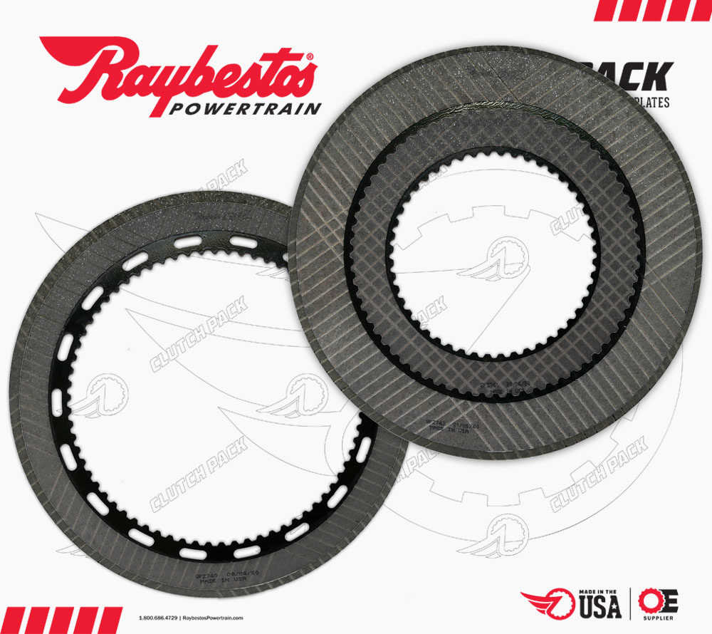 AS68RC GPZ Friction Clutch Pack