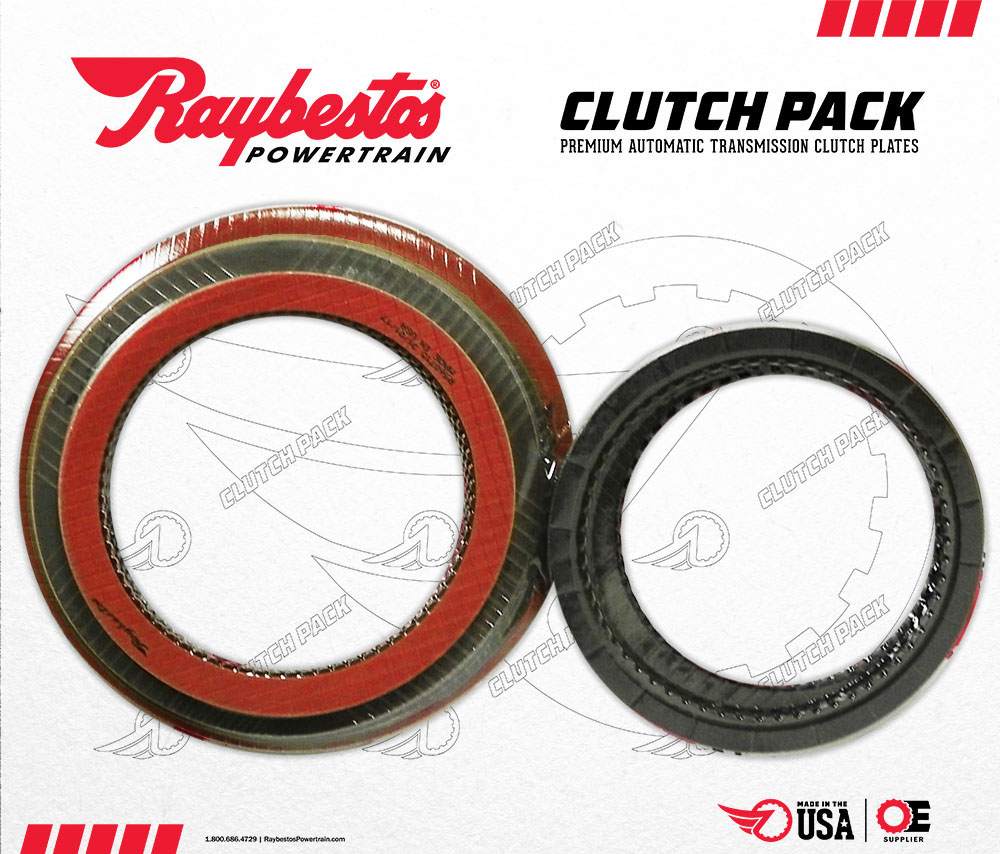 5R110W TorqShift GPZ & Stage-1 Friction Clutch Pack