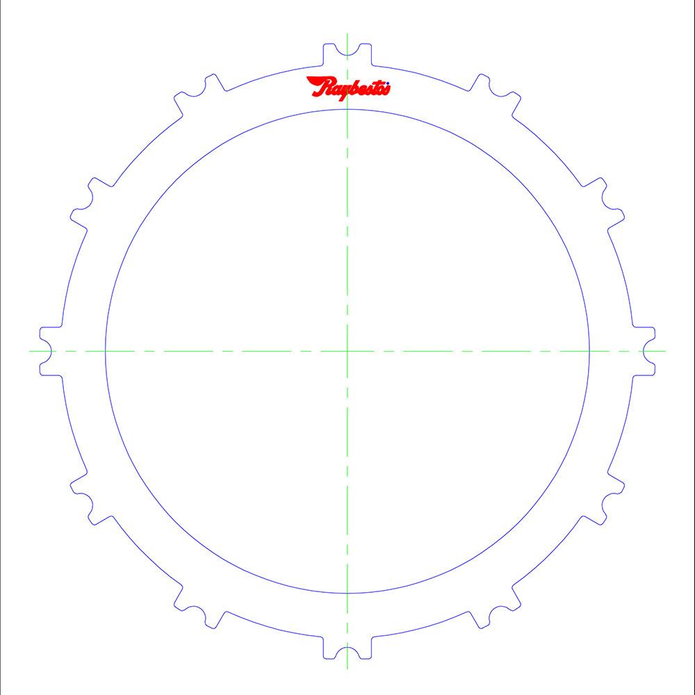 66RFE Overdrive Steel Clutch Plate