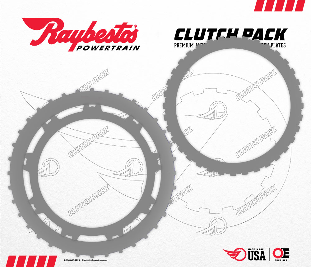 6L80 Steel Clutch Pack