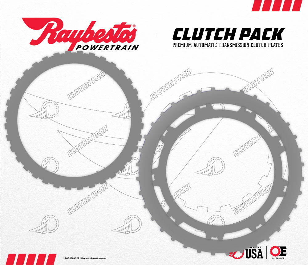 6L90 Steel Clutch Pack