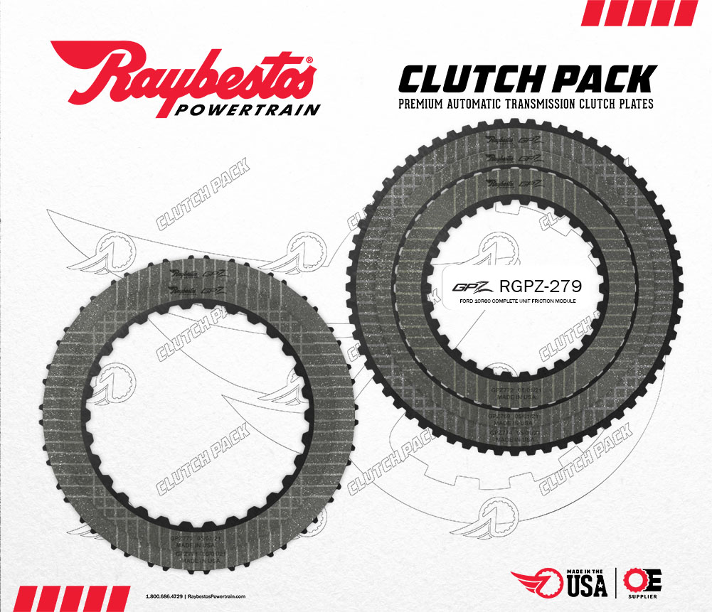 10R60 GPZ Friction Clutch Pack