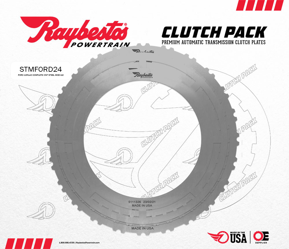 10R140 6.2 Ltr, 7.3 Ltr Gas Steel Clutch Pack