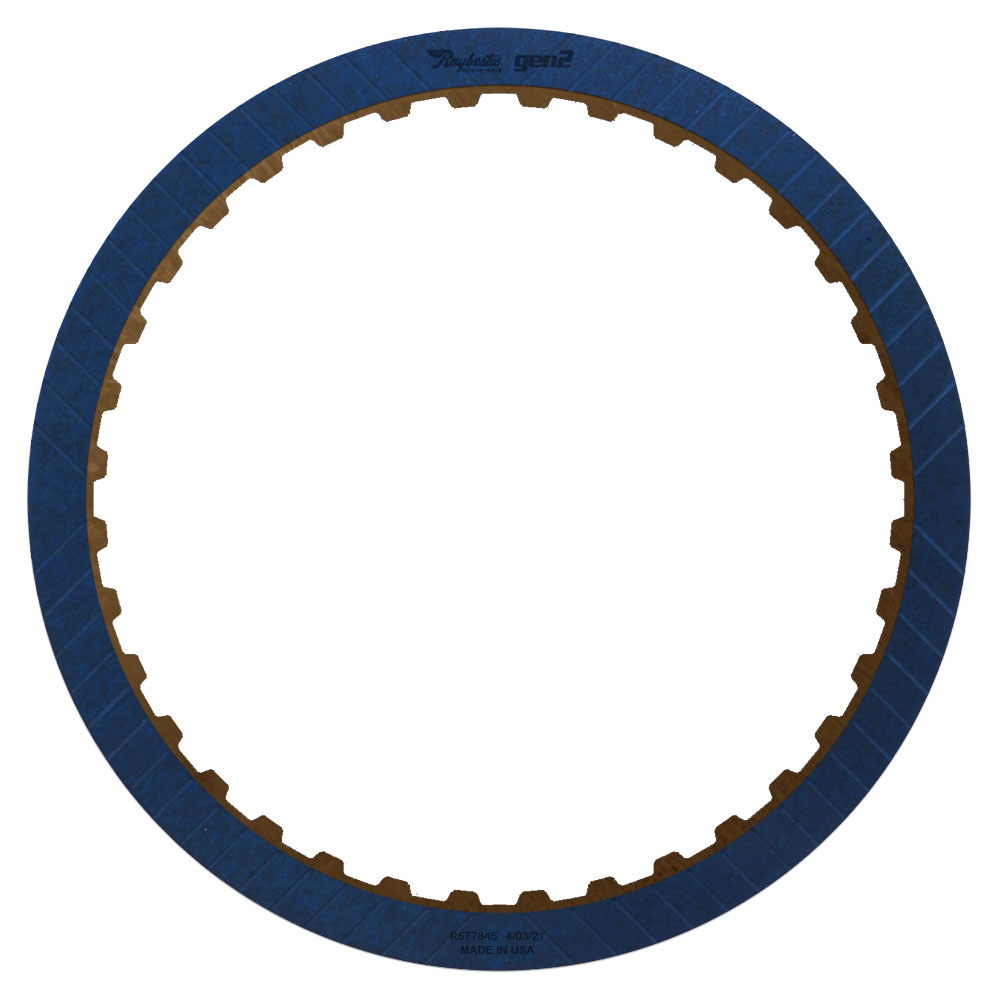 6L80, 6L90 1-2-3-4 GEN 2, Blue Friction Clutch Plate