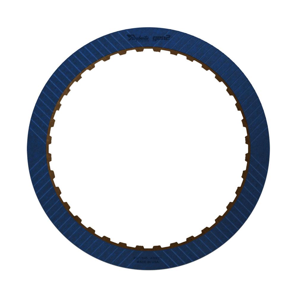 6L80, 6L90 2-6 GEN 2, Blue Friction Clutch Plate