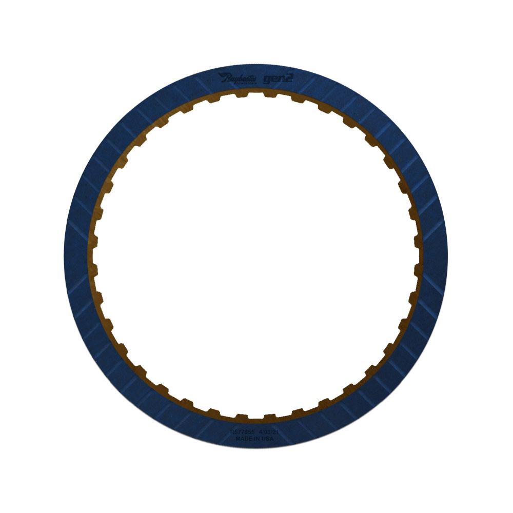 6L80, 6L90 3-5 Reverse GEN 2, Blue Friction Clutch Plate