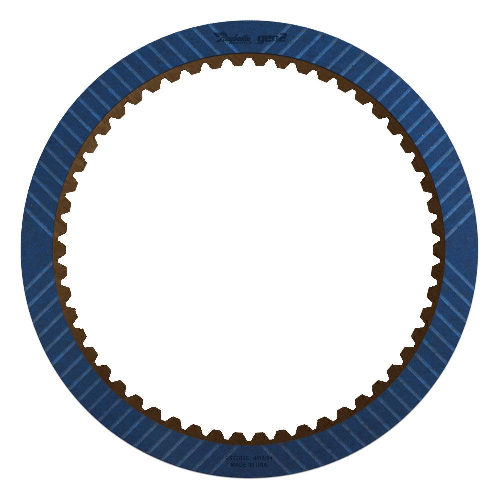 6L80, 6L90 Low Reverse GEN 2, Blue Friction Clutch Plate