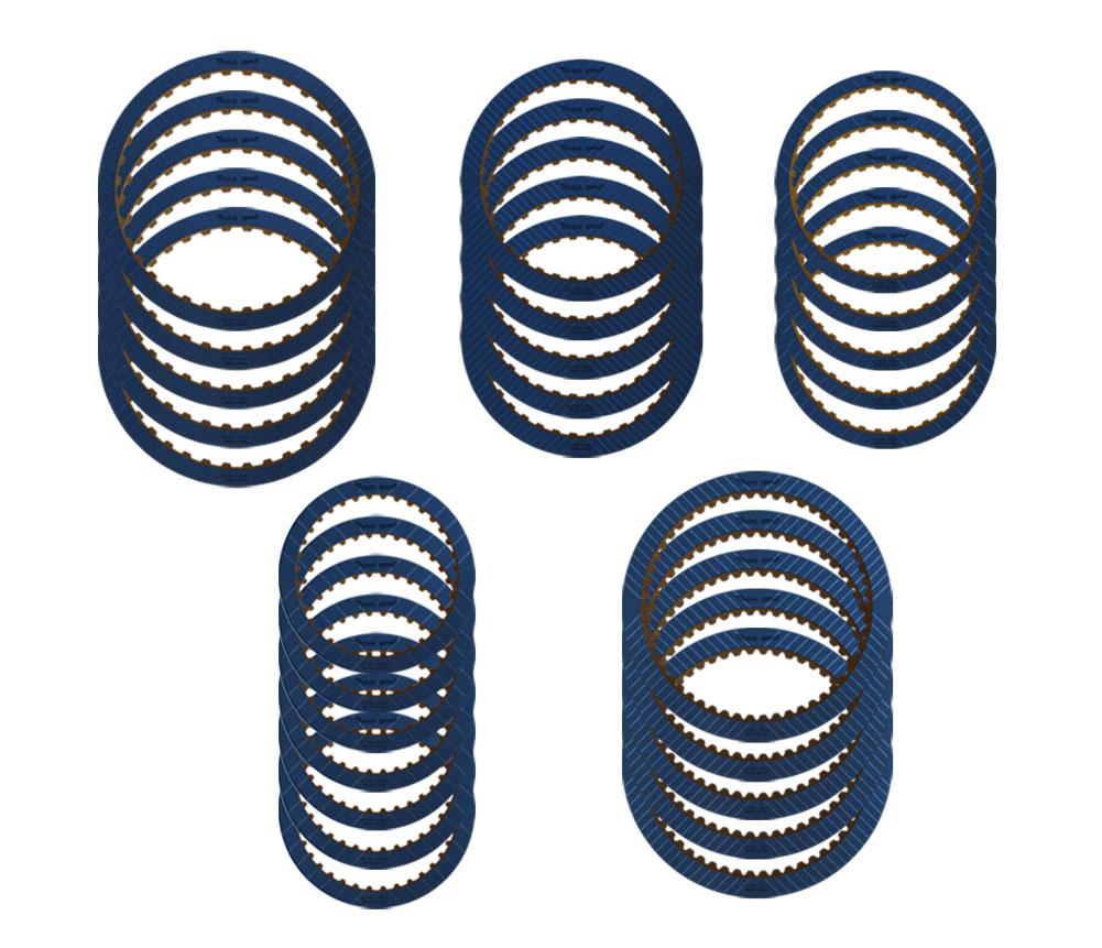 (5) R577855 2-6, (5) R577845 1-2-3-4, (5) R577835 Low/Reverse, (5) R577455 3-5 Reverse, (7) R577465 4-5-6