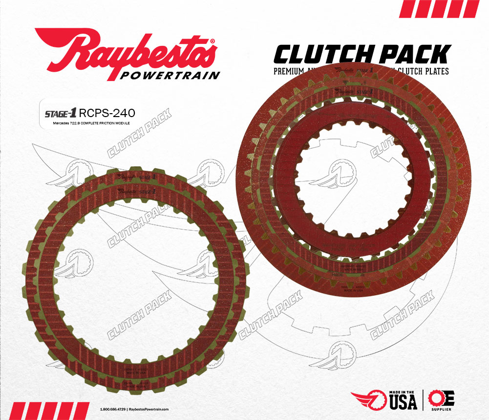 722.9 Stage-1 Friction Clutch Pack