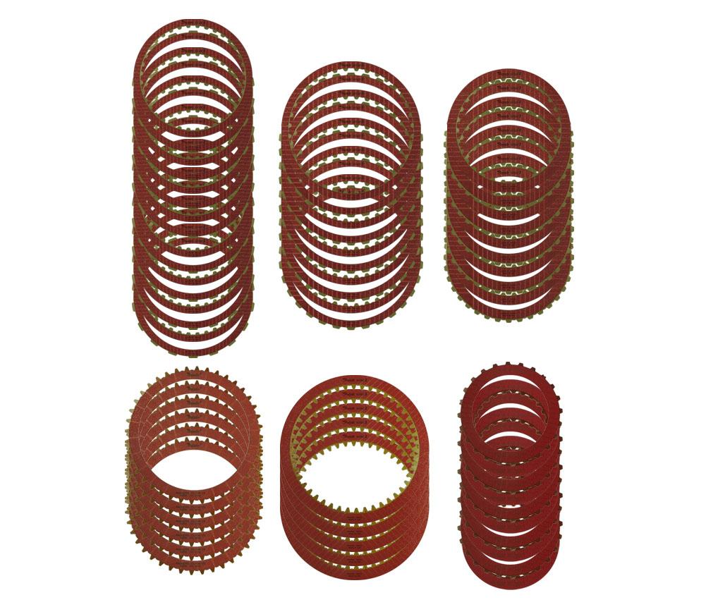 (8) R600002 B1 ID Spline, (8) R600003 B1 OD Spline, (5) R600004 K2 ID Spline, (5) R600007 K2 OD Spline, (5) R600105 K3 ID Spline, (5) R600115 K3 OD Spline, (5) R600011 B3 ID Spline, (5) R600012 B3 OD Spline, (6) R600045 B2, (5) R600065 B3