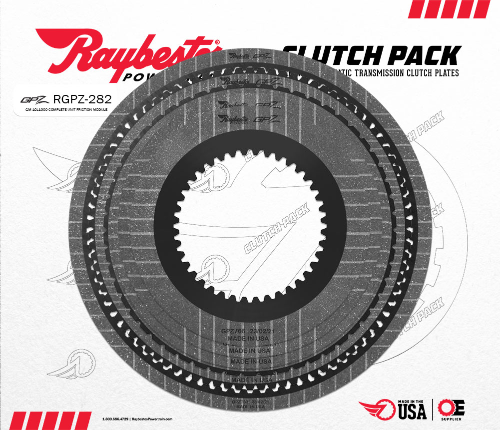 10L1000 GPZ Friction Clutch Pack Module