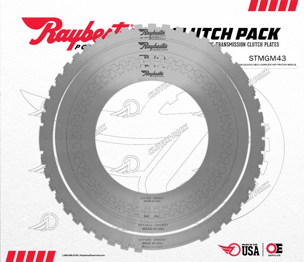 10L1000 Steel Clutch Pack