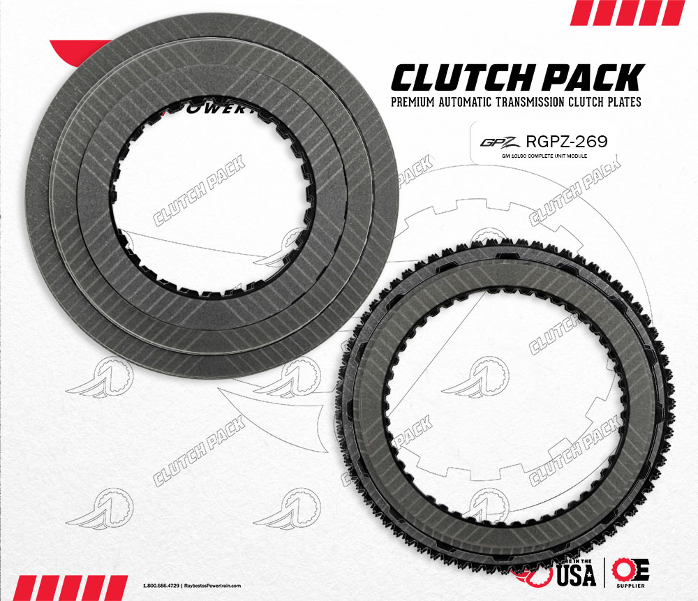 10L90 GPZ Friction Clutch Pack