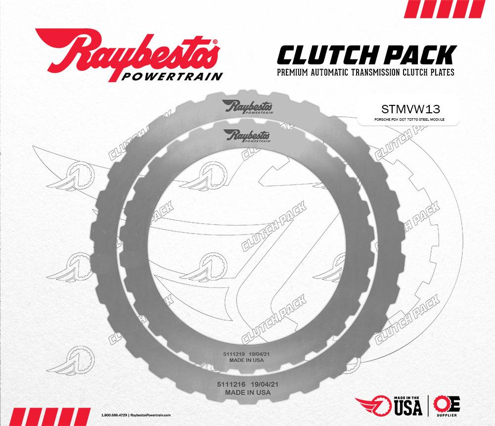 Porsche PDK DCT 7DT70 Steel Clutch Pack